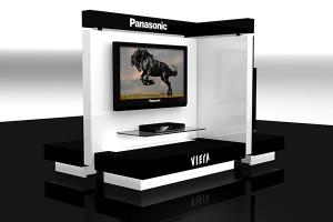 Shop in Shop Insel Panasonic Viera