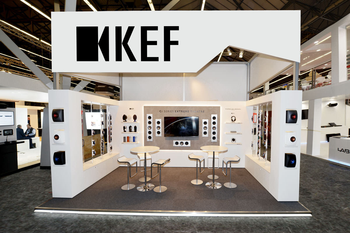 KEF Messestand